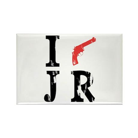 I Shot J.R. Rectangle Magnet