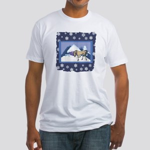 Snowflake Andalusian Fitted T-Shirt