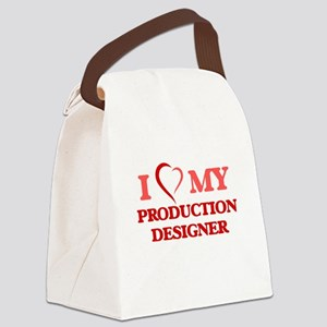 I love my Production Designer Canvas Lunch Bag