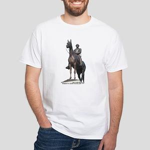 Robert E. Lee at Gettysburg White T-Shirt