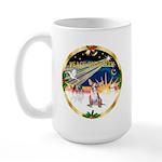 XmasSunrise/Chihuahua #1 Large Mug