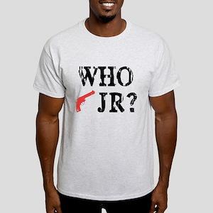 Who Shot J.R.? Light T-Shirt