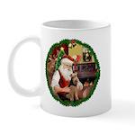 Santa's Welsh T Mug