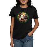 Santa's Welsh T Women's Dark T-Shirt