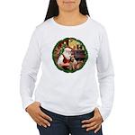 Santa's Welsh T Women's Long Sleeve T-Shirt
