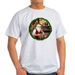 Santa's Welsh T Light T-Shirt