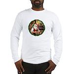 Santa's Welsh T Long Sleeve T-Shirt