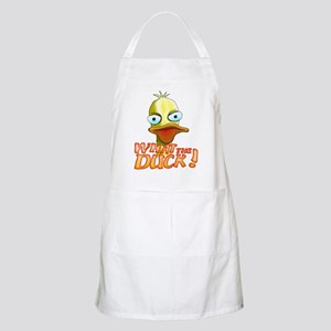 What the Duck! BBQ Apron