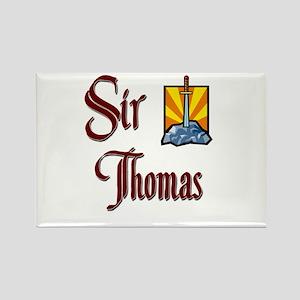 Sir Thomas Rectangle Magnet