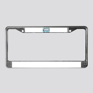 Westie Couch Potatoes License Plate Frame