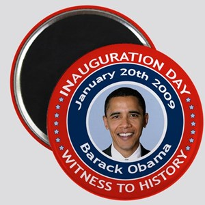 Obama Inauguration Day Magnet