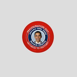 Obama Inauguration Day Mini Button