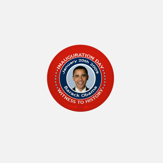 Obama Inauguration Day Mini Button