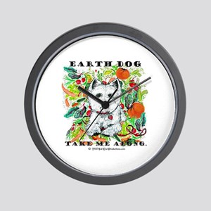 Earth Dog Westhighland Terrier Wall Clock