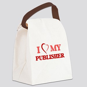 I love my Publisher Canvas Lunch Bag