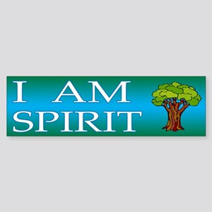 Unique I AM Spirit Bumper Sticker