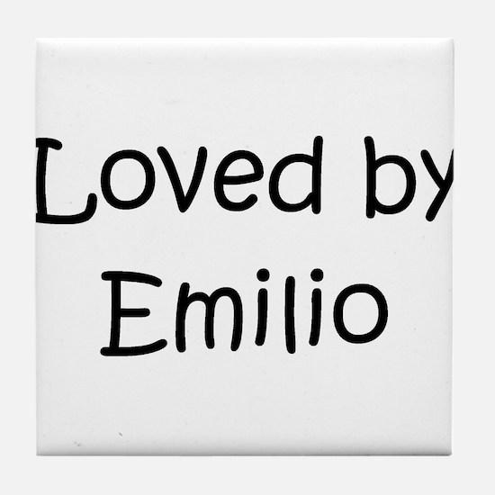 Funny Emilio Tile Coaster