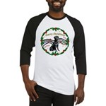 XmasMusic2/Lab (black) Baseball Jersey