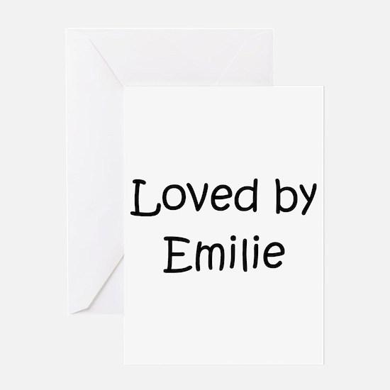 Cute Emilie Greeting Card