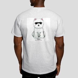 Westie Ash Grey T-Shirt