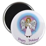 Holiday Angel Magnet