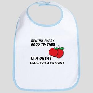 Great Teacher's Assistant Bib
