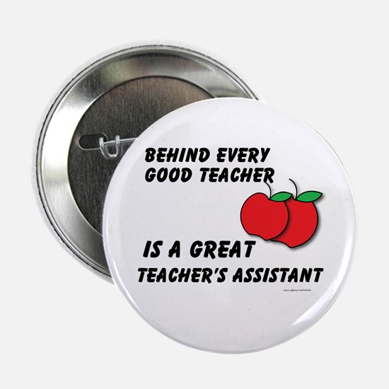 "Great Teacher's Assistant 2.25"" Button"