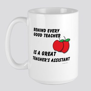 Great Teacher's Assistant Large Mug