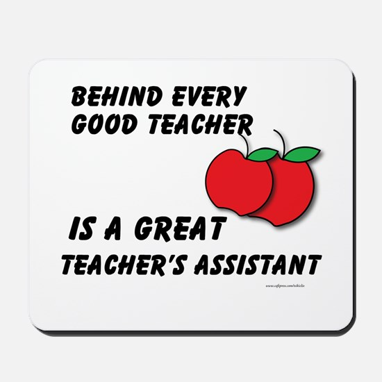 Great Teacher's Assistant Mousepad