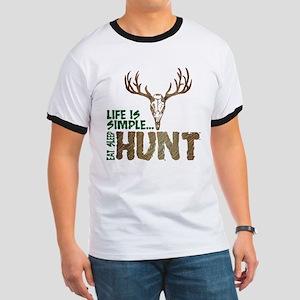 Eat Sleep Hunt Ringer T