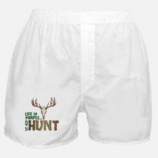 Eat Sleep Hunt Boxer Shorts