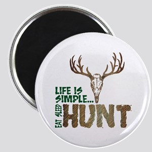 Eat Sleep Hunt Magnet