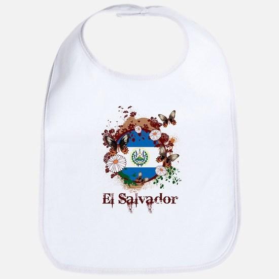 Butterfly El Salvador Bib