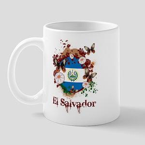 Butterfly El Salvador Mug