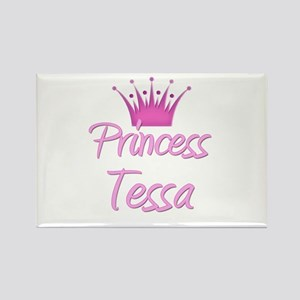 Princess Tessa Rectangle Magnet