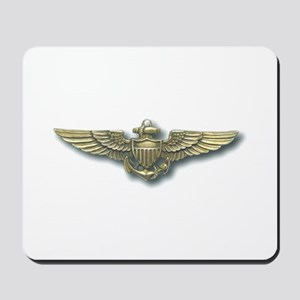 'Naval Aviator Wings' Mousepad