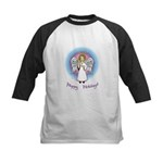 Holiday Angel Kids Baseball Jersey