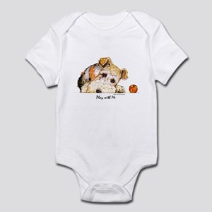 Wire Fox Terrier Infant Creeper