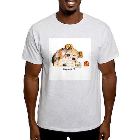 Wire Fox Terrier Ash Grey T-Shirt