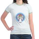 I-Love-You Angel Jr. Ringer T-Shirt