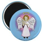 I-Love-You Angel Blue Magnet