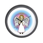I-Love-You Angel Wall Clock
