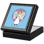 I-Love-You Angel Blue Keepsake Box