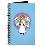 I-Love-You Angel Blue Journal