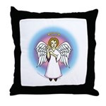 I-Love-You Angel Throw Pillow