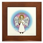 I-Love-You Angel Framed Tile