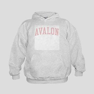Avalon New Jersey NJ Pink Kids Hoodie