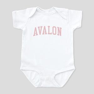 Avalon New Jersey NJ Pink Infant Bodysuit