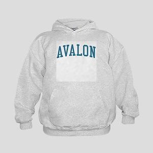 Avalon New Jersey NJ Blue Kids Hoodie