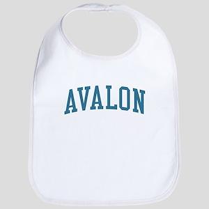 Avalon New Jersey NJ Blue Bib